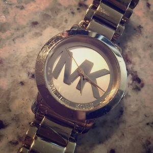Micheal Kors Gold Watch (Needs TLC)